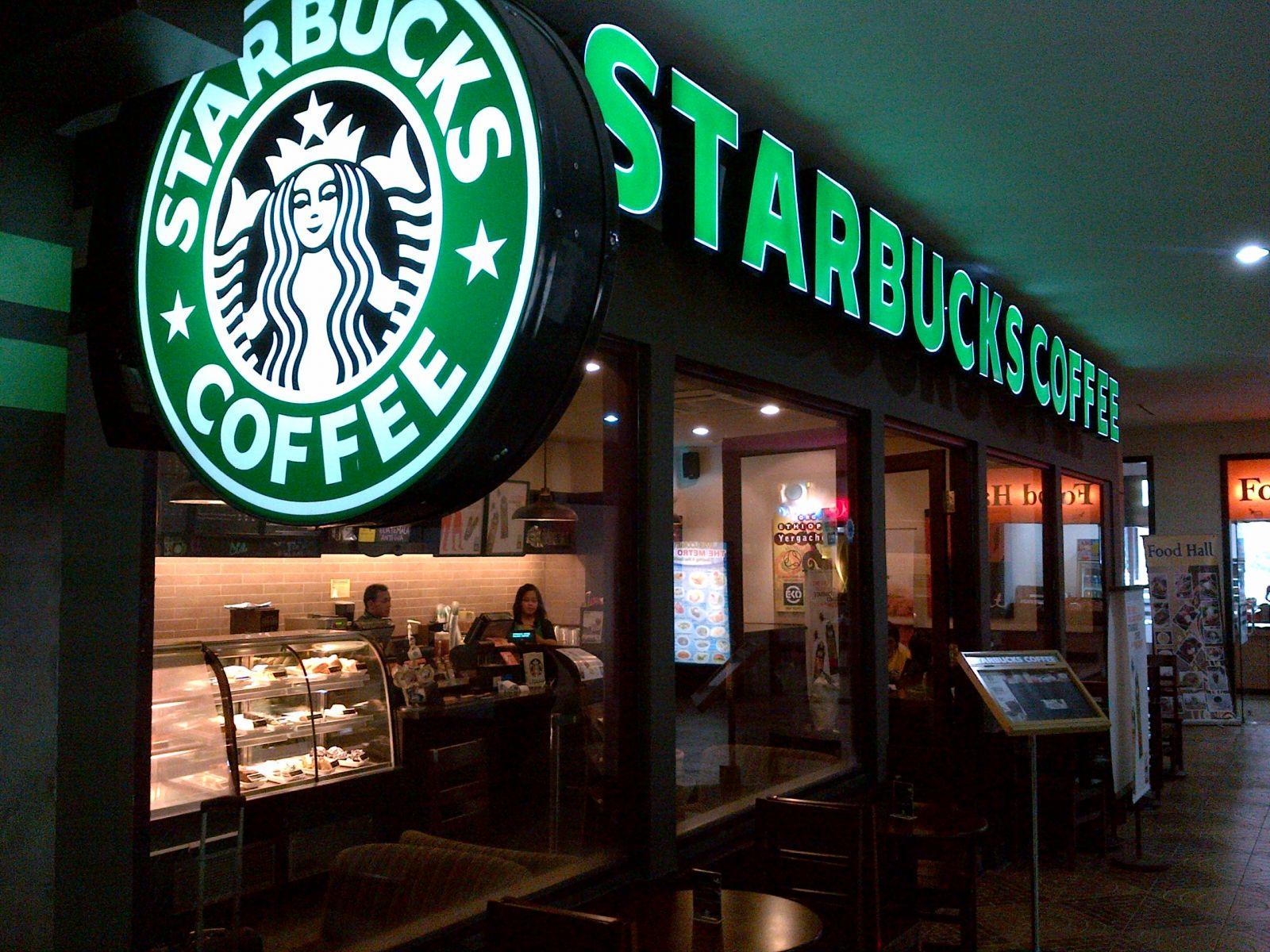 Starbuck giờ đây đã có 27.300 cửa hàng ở 75 nước.