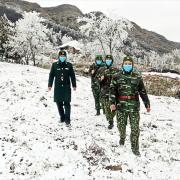 Bộ đội Biên phòng: Đạp tuyết chặn dịch