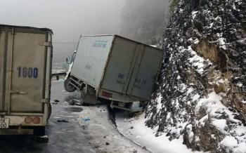 Cảnh báo nguy hiểm khi lái xe trong sương mù, băng giá