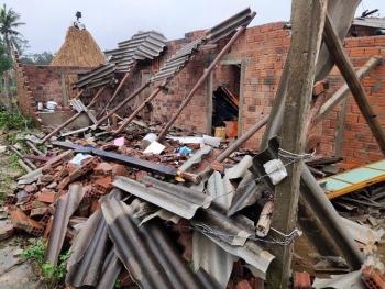 103 hộ dân bị sập nhà do bão lũ được hỗ trợ kinh phí xây dựng nhà ở