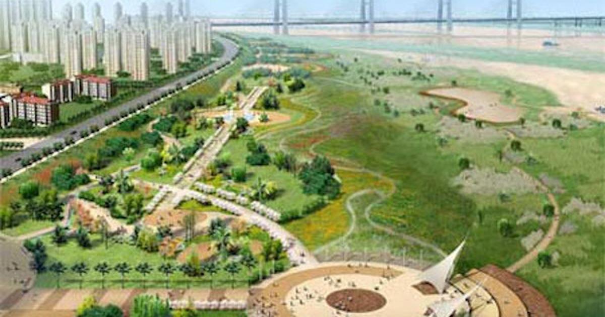 Dự án thành phố ven sông Hồng đến nay vẫn nằm ở mức ý tưởng