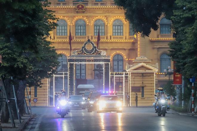 Các lực lượng đảm bảo an toàn tuyệt đối Đoàn đại biểu dự Đại hội Đảng XIII - 1