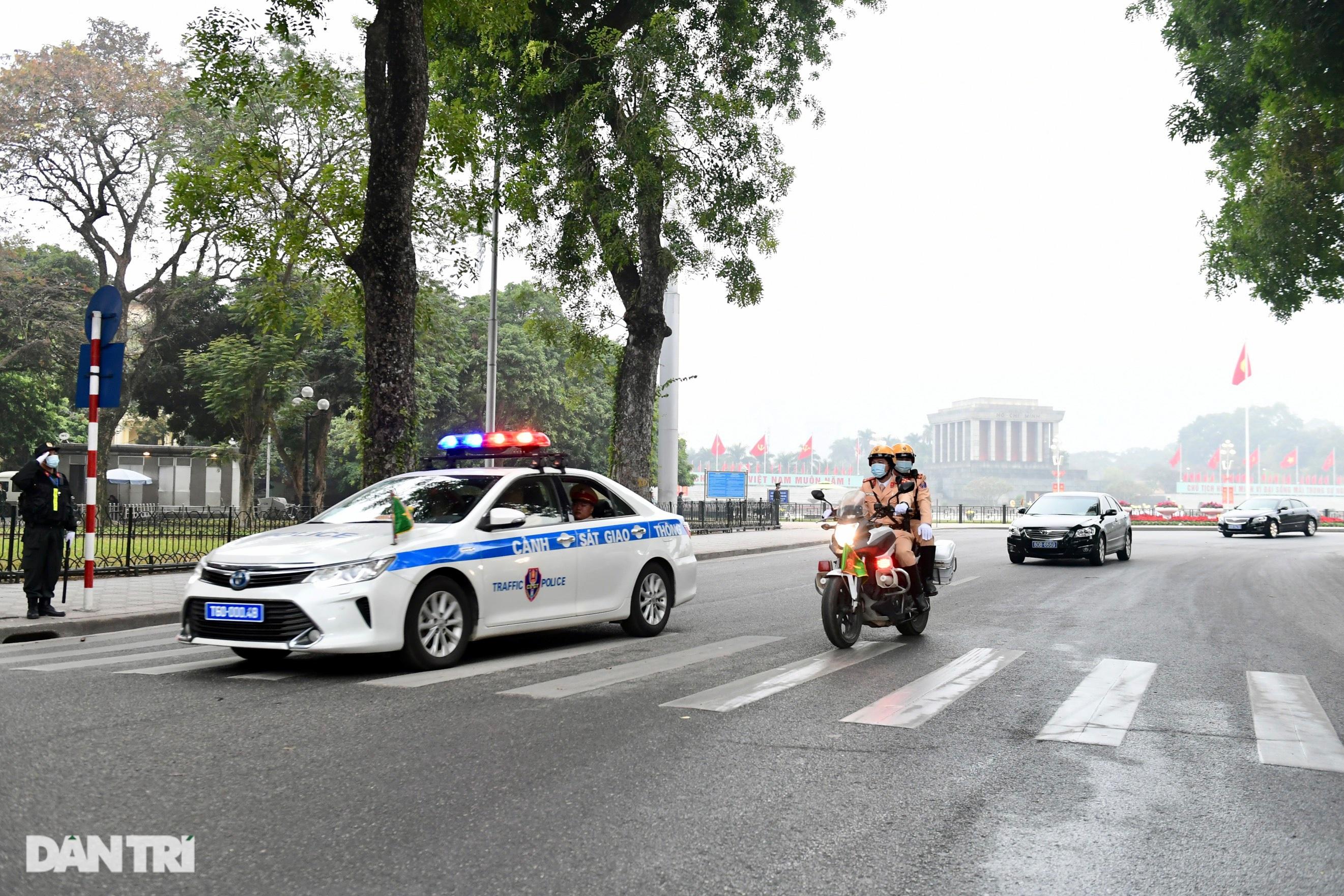 Các lực lượng đảm bảo an toàn tuyệt đối Đoàn đại biểu dự Đại hội Đảng XIII - 9
