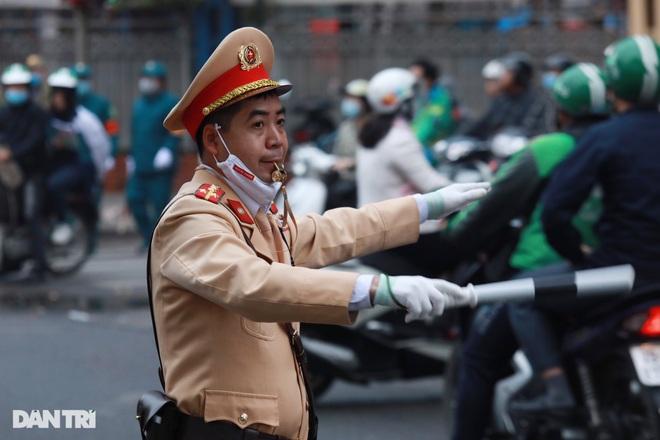 Các lực lượng đảm bảo an toàn tuyệt đối Đoàn đại biểu dự Đại hội Đảng XIII - 12