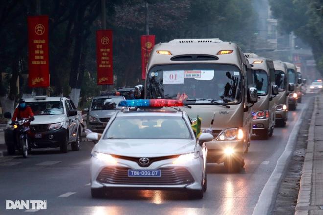 Các lực lượng đảm bảo an toàn tuyệt đối Đoàn đại biểu dự Đại hội Đảng XIII - 3