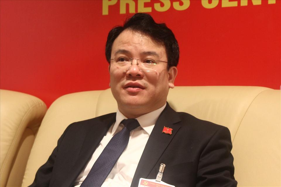 Thứ trưởng Bộ Kế hoạch và Đầu tư Trần Quốc Phương. Ảnh Xuân Hải