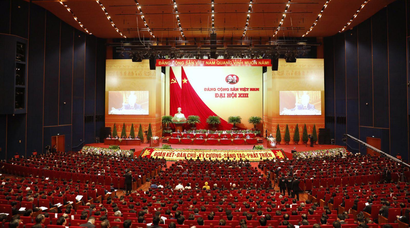 Đại hội XIII của Đảng đã sang ngày làm việc thứ 3.