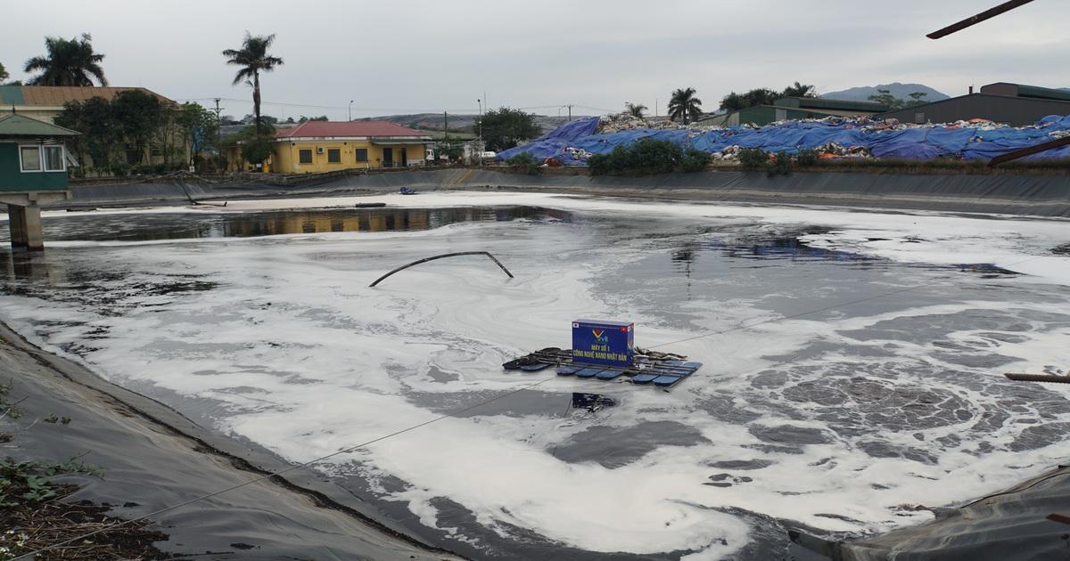 Công nghệ Nhật Bản làm giảm gần 100% mùi ở bãi rác Nam Sơn