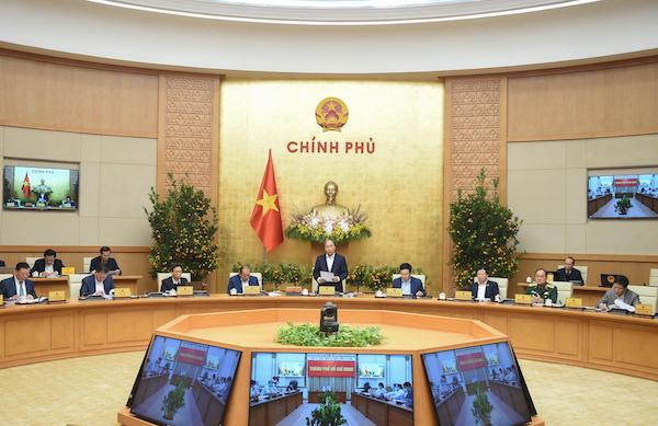 phiên họp Chính phủ thường kỳ tháng 1/2021