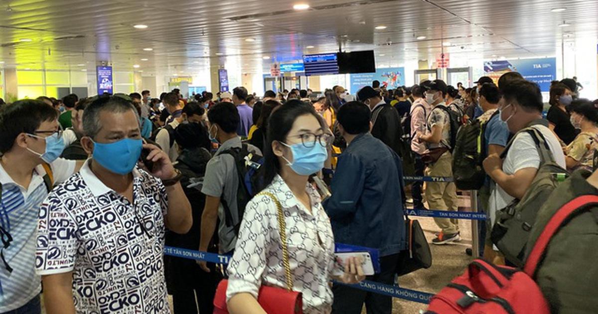 Cao điểm Tết tại Tân Sơn Nhất có 26 chuyến bay cất cánh mỗi giờ