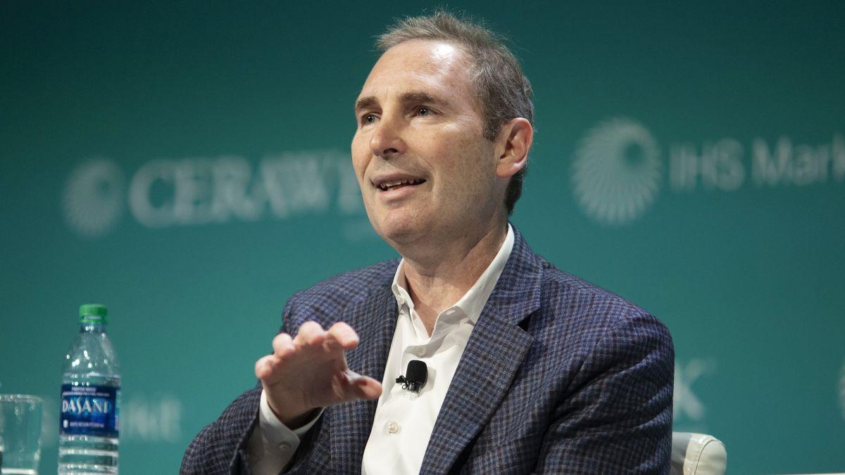 CEO cho Andy Jassy, người đã sát cánh với Amazon từ năm 1997