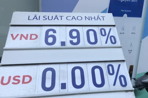 Sát Tết, lãi suất liên ngân hàng bật tăng mạnh