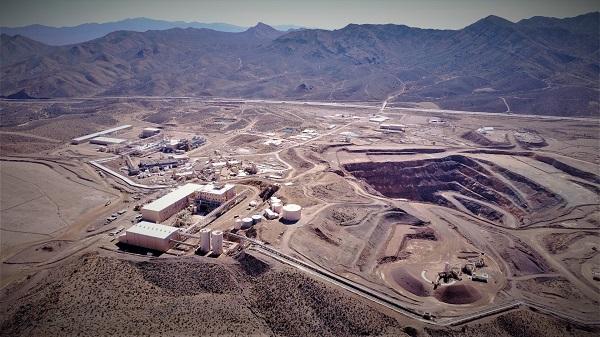 mỏ đất hiếm Mountain Pass và các cơ sở chế biến quặng liên quan ở California do MP Materials điều hành
