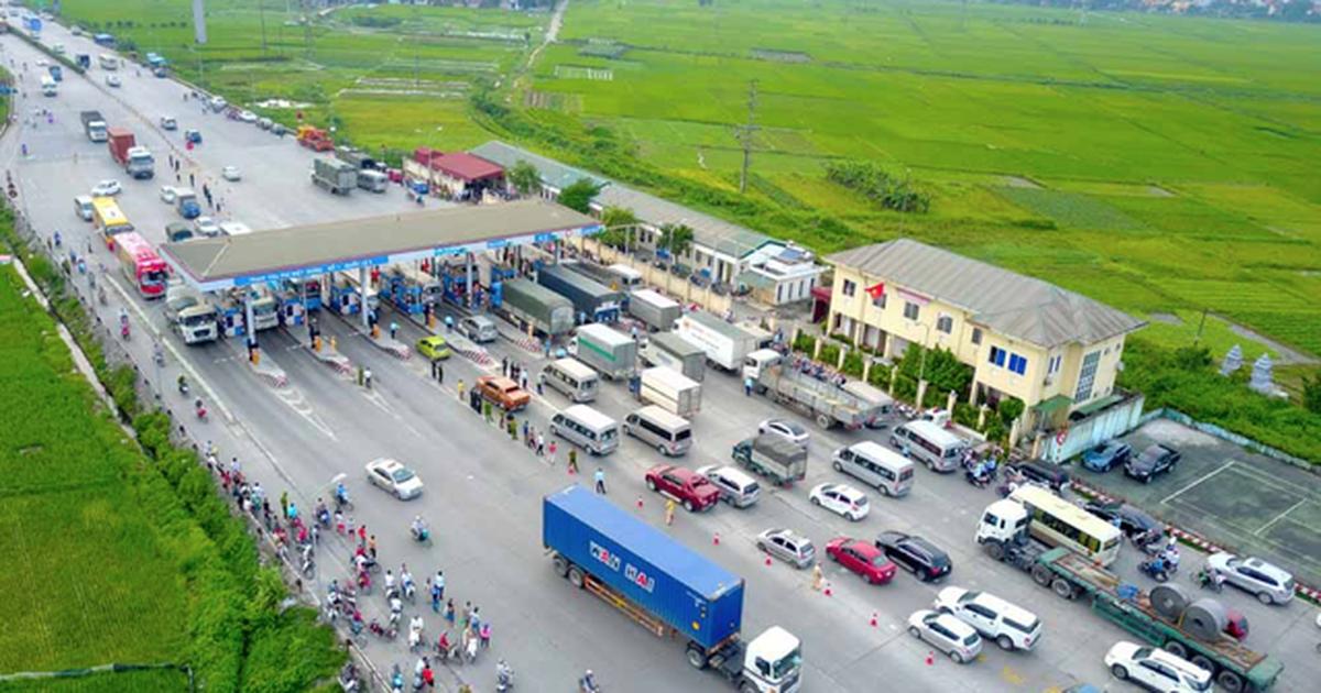 """""""Đóng cửa"""", cấm đường quốc lộ 5 để phòng chống dịch Covid-19 tại Hải Dương"""
