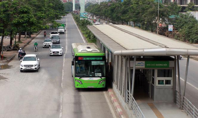 Nâng hiệu quả vận tải của xe buýt