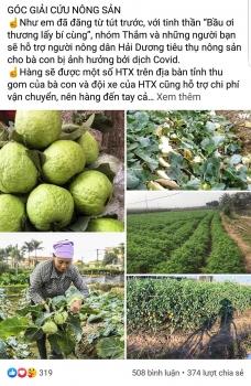 Hà Nội: Nhiều doanh nghiệp, cá nhân hưởng ứng giải cứu nông sản tại Hải Dương sau lời kêu gọi của Bí thư Thành ủy Vương Đình Huệ