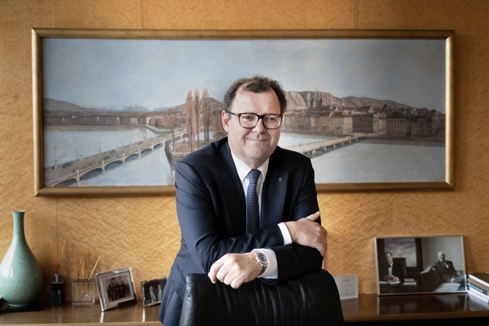 Thierry Stern, giám đốc điều hành của Patek Philippe, cho biết tham vọng của ông là phát triển công ty không quá 3% mỗi năm.