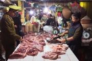 """Vụ thịt lợn """"bẩn"""" ở Chương Mỹ: Lực lượng quản lý thị trường nói gì?"""