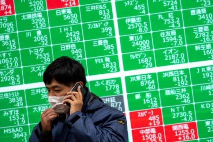 Nhà đầu tư bất an vì lợi suất trái phiếu Mỹ tăng cao, chứng khoán châu Á giảm về mức thấp nhất 1 tháng