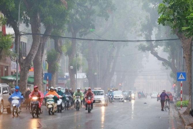 Thời tiết 10 ngày (7/3-16/3): Sau mưa rào và dông ngày 7/3, Bắc Bộ liên tiếp sương mù