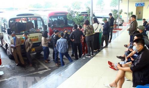 Nghệ An: Sau nhiều ngày bãi bến, xe khách đã hoạt động trở lại