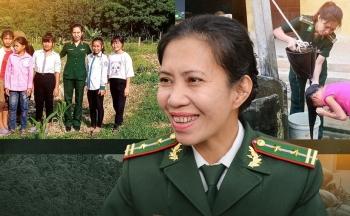 Người mẹ biên phòng của những đứa trẻ tộc người ngủ ngồi Đan Lai