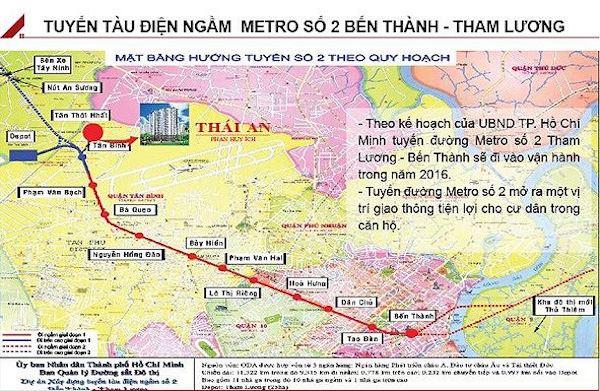 TP Hồ Chí Minh: Dự kiến khởi công Metro số 2 vào giữa năm 2022