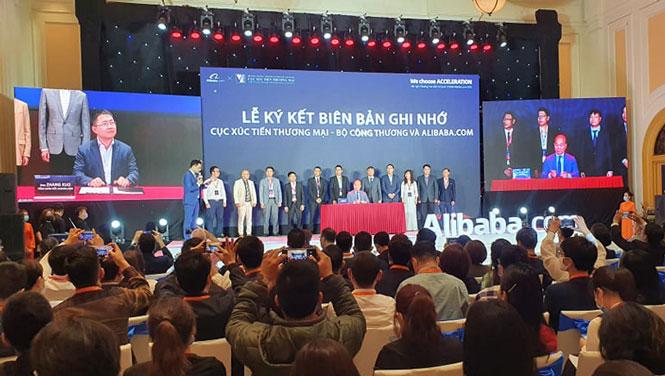 Sẽ có hơn 10.000 doanh nghiệp Việt lên sàn Alibaba.com