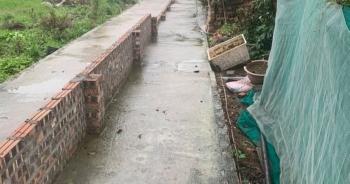 Thực hư thông tin dân Hải Phòng xây tường ngăn đôi đường vì sốt đất