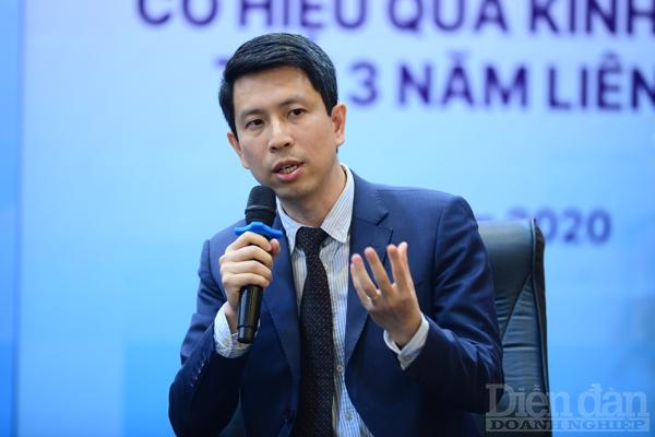 Chuyên gia tài chính Phan Lê Thành Long, Giám đốc Viện Nghiên cứu Kế toán Úc (CMA)