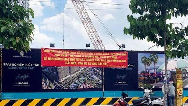 """""""Cò đất"""" ngang nhiên phân lô, bán nền cả trụ sở Cảnh sát PCCC ở TP Hồ Chí Minh"""