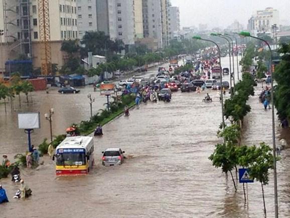 Năm 2021, Hà Nội còn bao nhiêu điểm ngập úng khi trời mưa lớn?