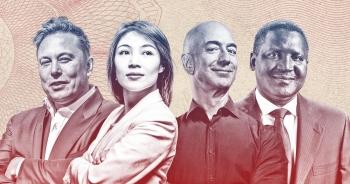 """Bảng xếp hạng Forbes 2021: Cứ 17 giờ thế giới lại có """"gần"""" 1 tỷ phú mới"""