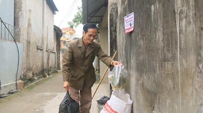 """""""Ông Quang môi trường"""" ở Song Khê"""
