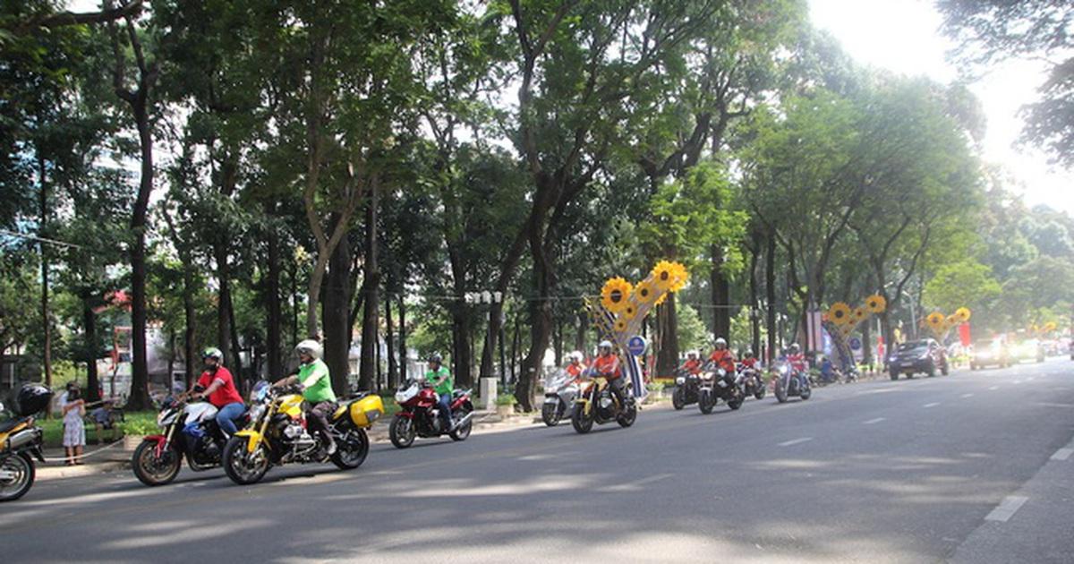 Cấm xe nhiều tuyến đường trung tâm Sài Gòn 2 ngày cuối tuần