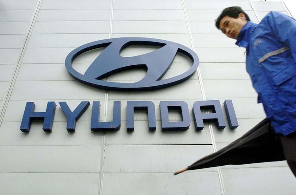 Nhà máy số 1 Ulsan của Hyundai tại Hàn Quốc tạm dừng sản xuất vì thiếu chip.p/Ảnh: S.T