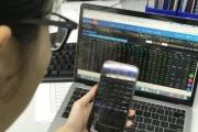 """Thanh khoản thị trường vượt 1 tỷ USD, VN-Index """"xanh vỏ đỏ lòng"""""""