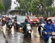 Bắc Bộ mưa lớn, cảnh báo lốc, sét, mưa đá