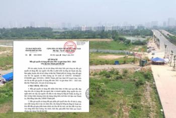 Thấy gì từ việc Hà Nội có kế hoạch đấu giá 1.084,8 ha đất?