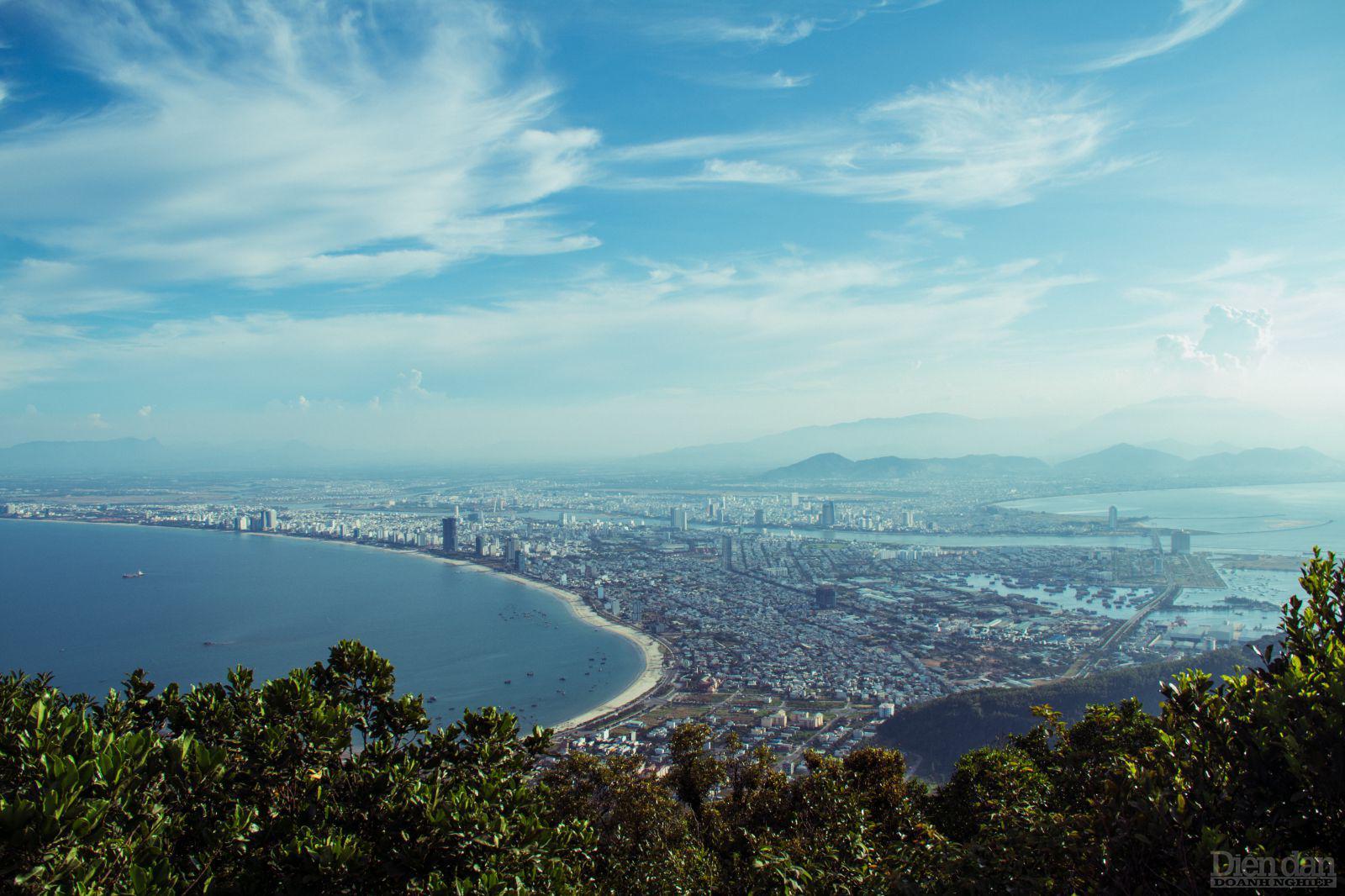 Đà Nẵng dừng dự án công viên đại dương lấn biển tại quận Sơn Trà.