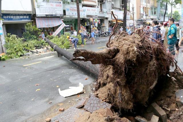 TPHCM sắp đón nhiều đợt mưa lớn, người dân cẩn thận khi ra đường - 4
