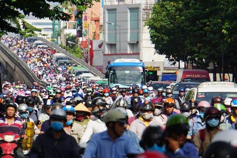 TP Hồ Chí Minh sẽ lập vành đai hạn chế xe trên 30 chỗ vào trung tâm