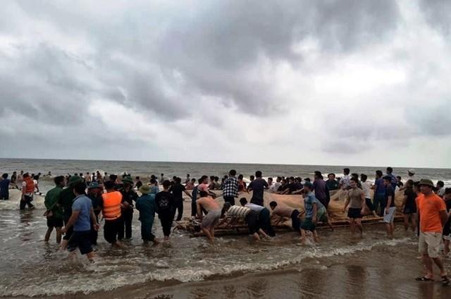 Thanh Hóa: Tìm thấy cả 4 thi thể học sinh bị đuối nước ở bờ biển