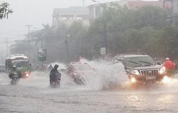 Cảnh báo Bắc Bộ và Bắc Trung Bộ mưa lớn; Bắc Bộ lũ quét, sạt lở đất