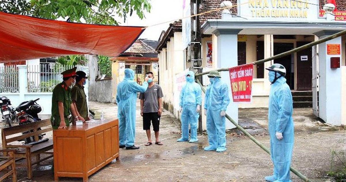 Cách ly xã hội xã có 8 ca dương tính với SARS-CoV-2 ở Hà Nam