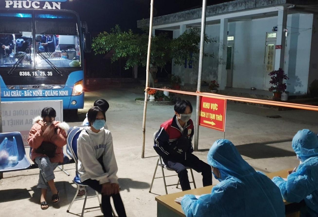 Lai Châu tạm dừng vận chuyển hành khách đến và đi từ Bắc Giang, Sơn La, Điện Biên