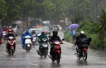 Bắc Bộ và Thanh Hóa mưa dông đến rất to, nguy cơ lũ quét tại miền núi