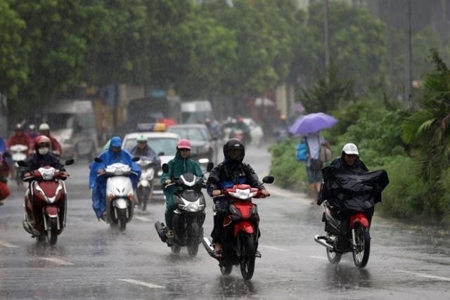 Bắc Bộ mưa dông, nhiều nơi mưa rất to