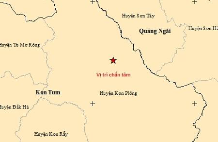 Quảng Nam và Kon Tum: 6 trận động đất trong 24 giờ