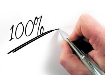 Chinh phục mục tiêu với quy tắc 100%